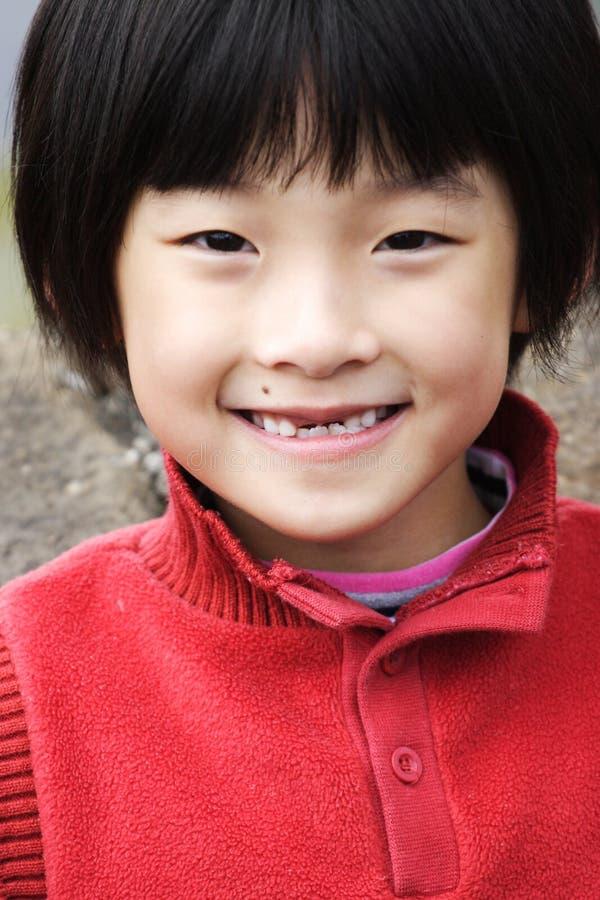 chińskiej dziewczyny mały ja target39_0_ zdjęcia royalty free