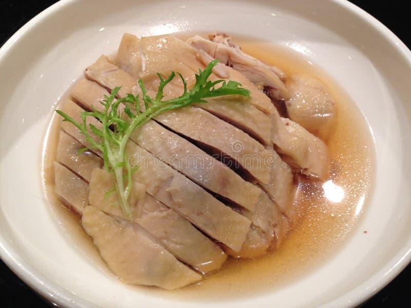 Chińskiej kuchni Biały rżnięty kurczak obraz royalty free
