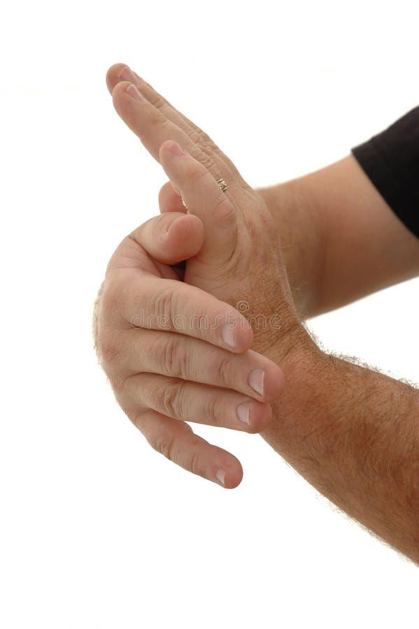 chi χέρια tai στοκ φωτογραφίες