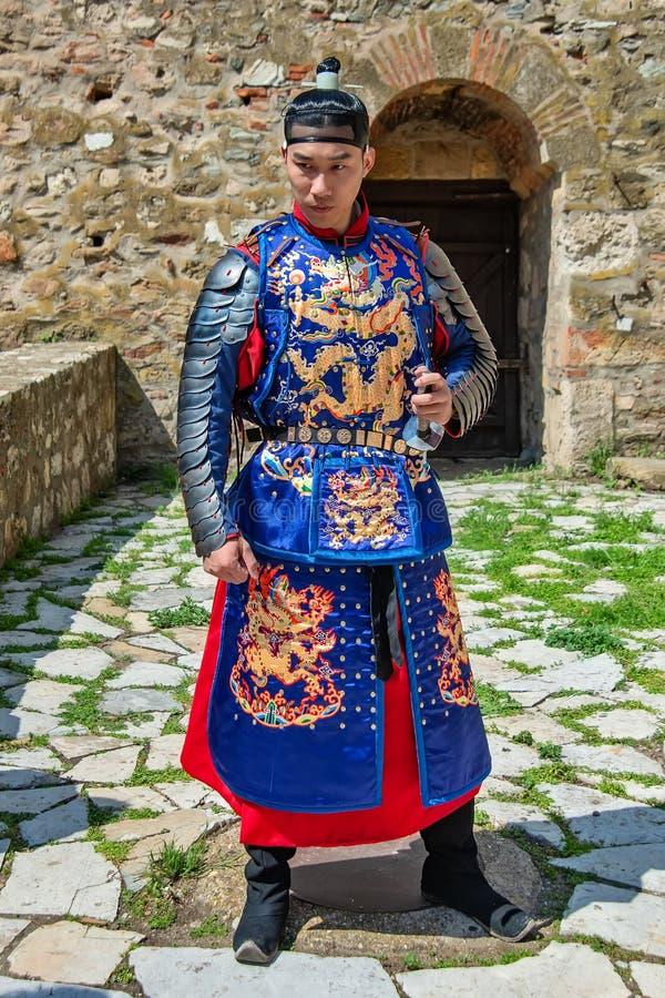 chi?czyka tradycyjny kostiumowy obraz stock