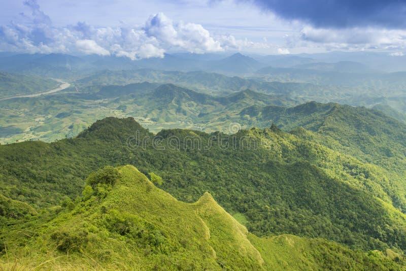 Chi Dao de Phu de voyage au voyage étonnant de la Thaïlande/montagne et du ciel image stock