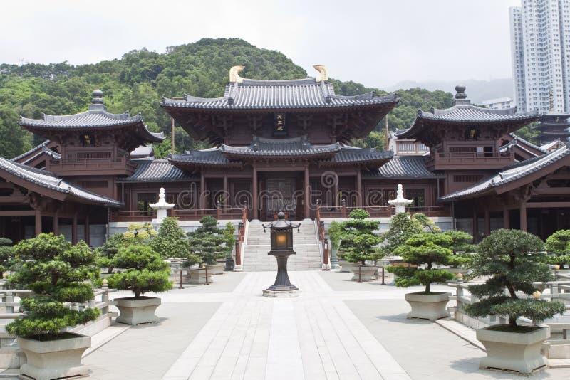 Chi lin Nunnery. Hong Kong royalty free stock photography