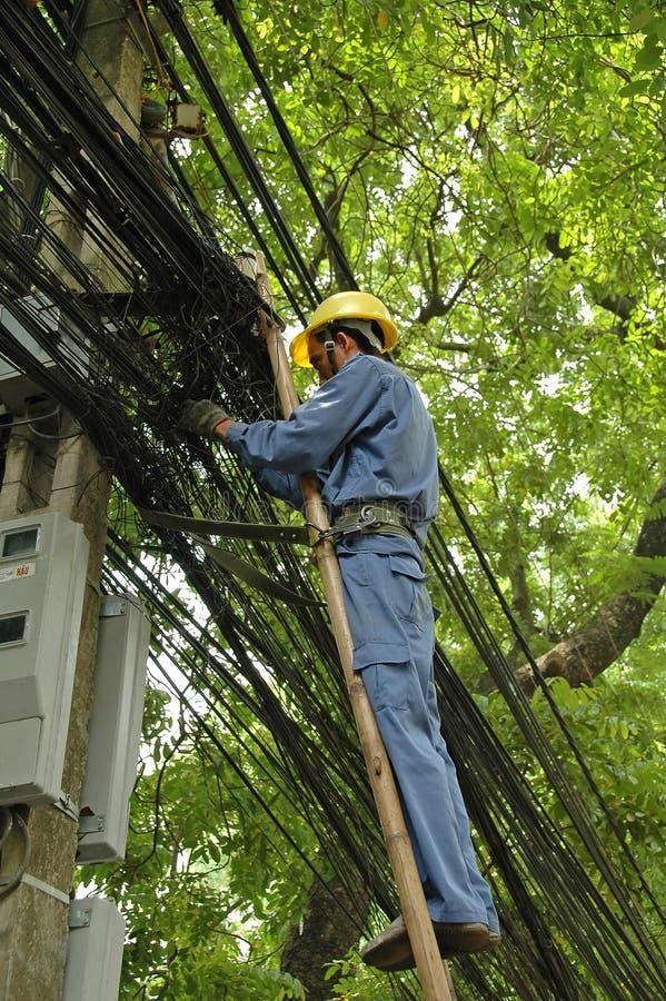 chi miasta ho linesman minh Vietnam zdjęcie stock