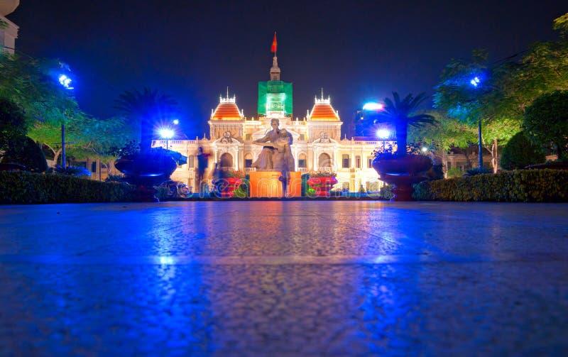 chi miasta ho minh Vietnam obraz royalty free