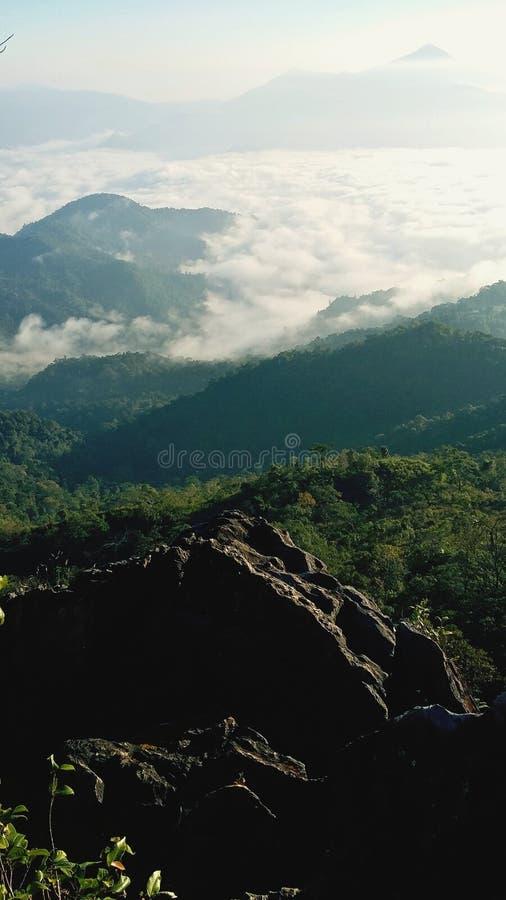 Chi Phu fah άποψη στοκ φωτογραφία