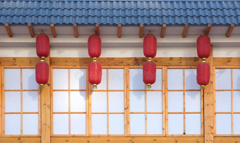 Download Chińscy okapy obraz stock. Obraz złożonej z eave, lampion - 28965419