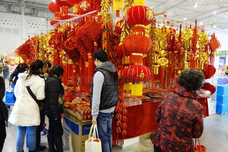 Download Chiński Nowego Roku Zakupy Festiwal W Sichuan Zdjęcie Stock Editorial - Obraz złożonej z obfitość, wakacje: 28951628