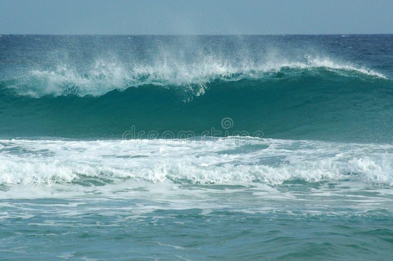 chia fale plażowych fotografia stock
