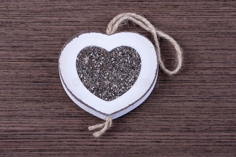 Download Chia in heart stock photo. Image of dark, eating, heart - 38839260