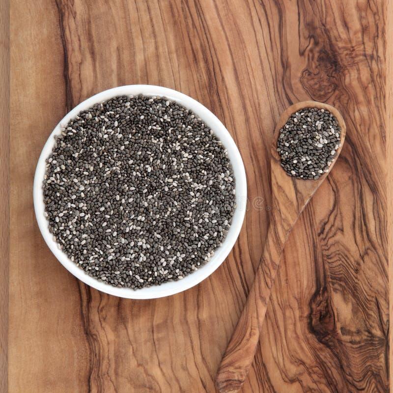 Chia Seed stockbilder