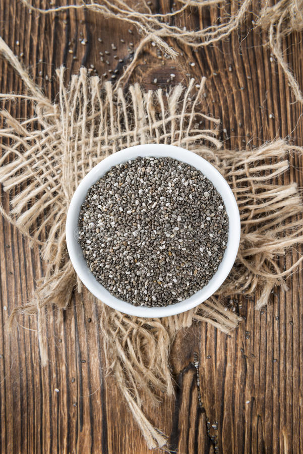 Chia Seeds photos stock