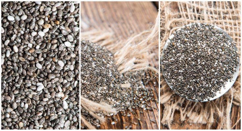 Chia Seeds stock fotografie