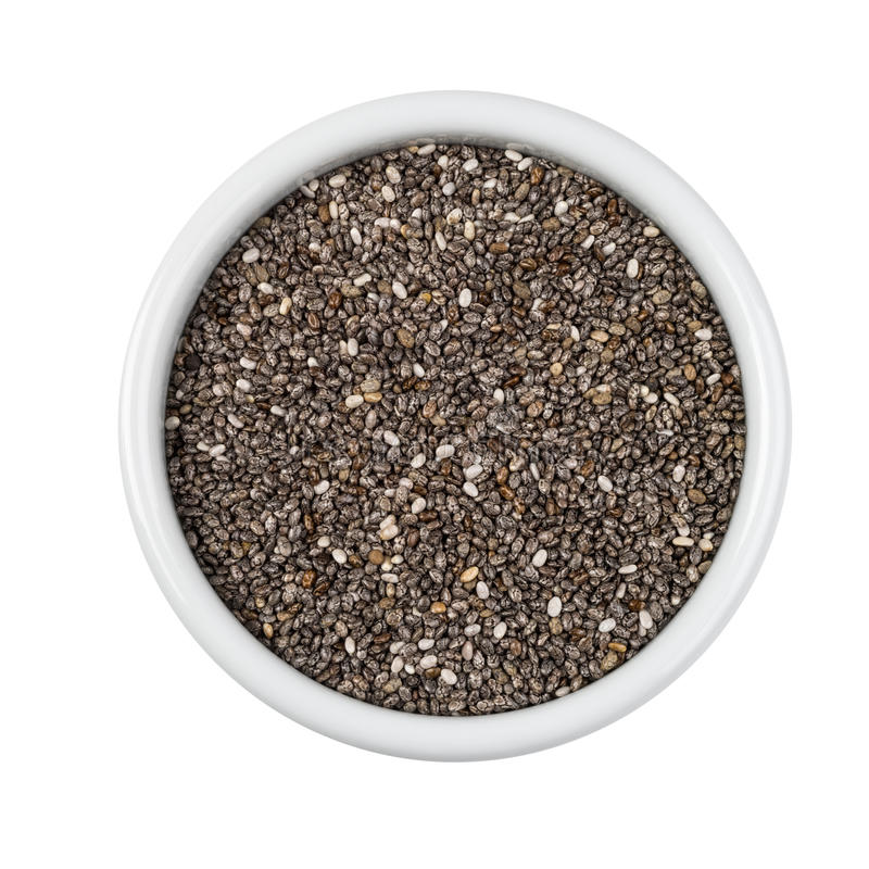 Chia seeds royalty free stock photography