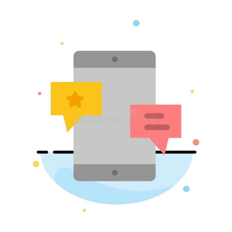 Chiacchierata, Comunità, media, rete, modello piano dell'icona di colore dell'estratto di promozione royalty illustrazione gratis