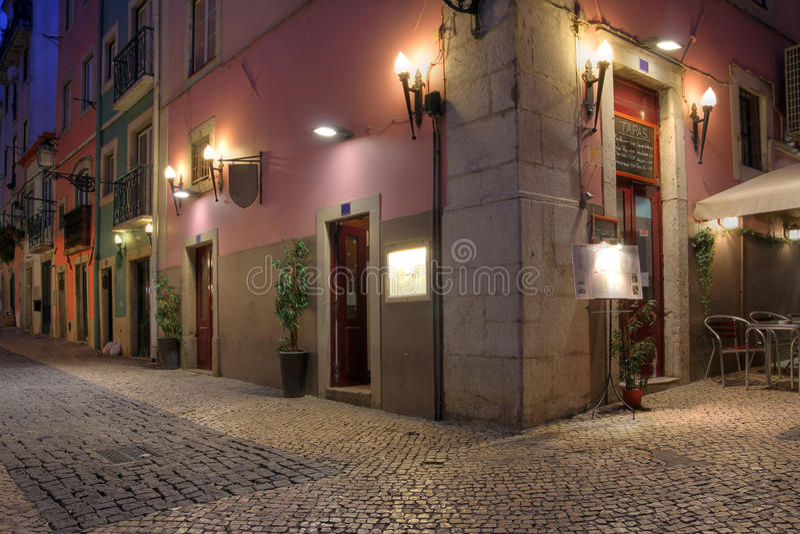 Chiado, Lissabon, Portugal royalty-vrije stock fotografie