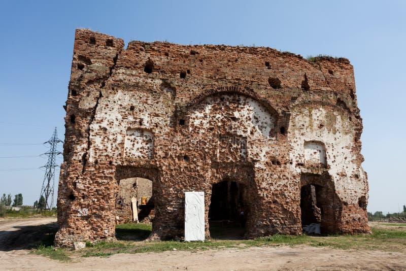 Download Chiajna ruins stock image. Image of chiajna, orthodox - 32439379