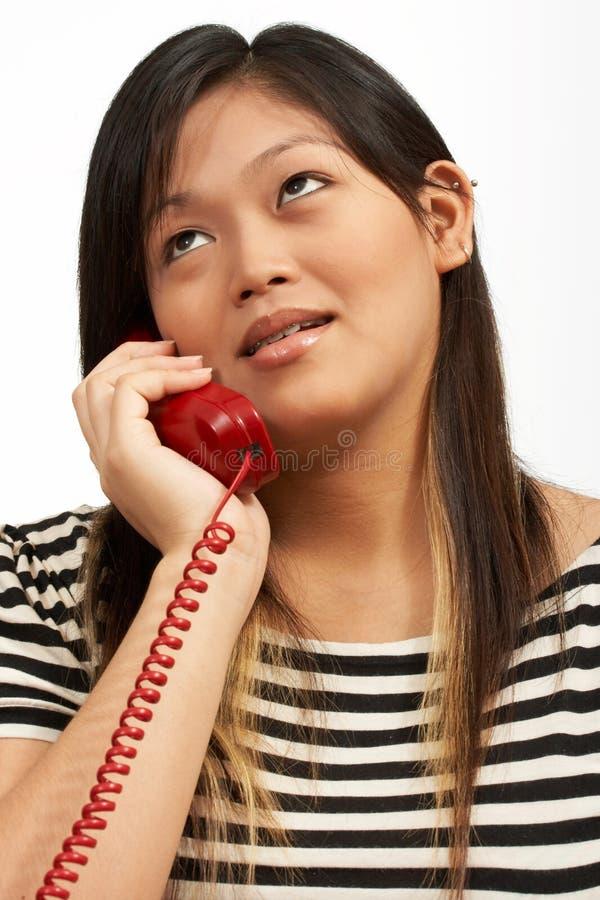 Chiamata di telefono immagini stock
