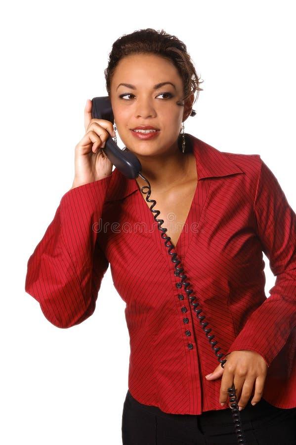 Chiamata in ufficio fotografie stock