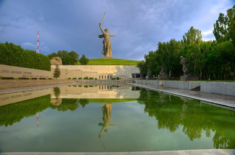 Chiamate della Patria-madre della scultura! immagini stock
