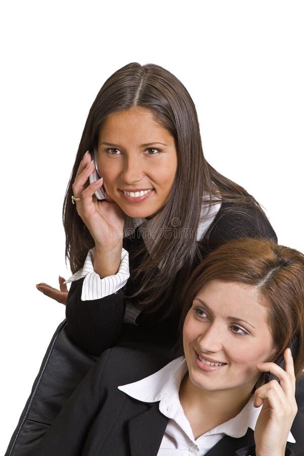 Chiamate di telefono fotografie stock