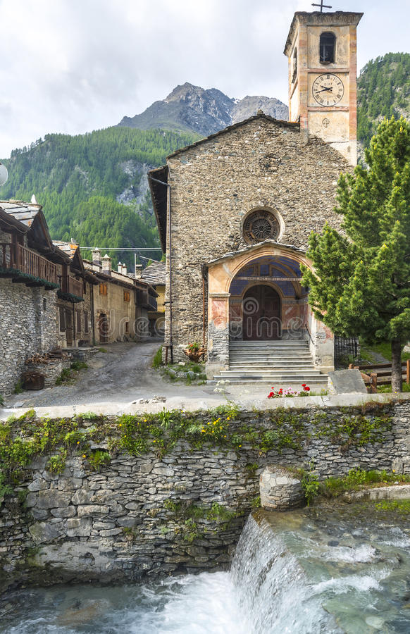 Chianale (Italian Alps) Royalty Free Stock Images