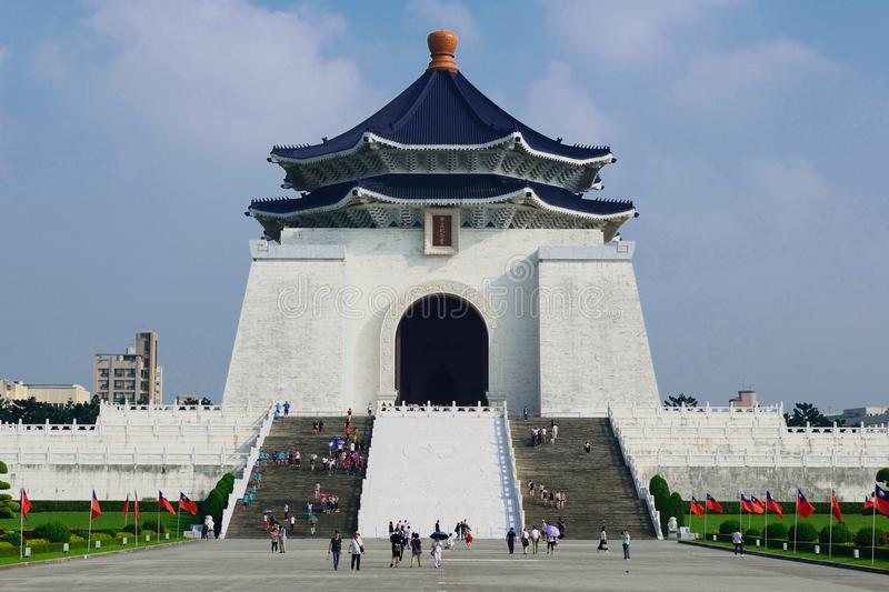 chiang αναμνηστικό shek kai αιθουσών στοκ φωτογραφία με δικαίωμα ελεύθερης χρήσης