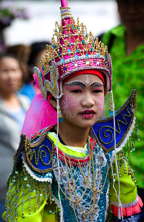 chiang festiwalu kwiatu mai Thailand zdjęcie royalty free
