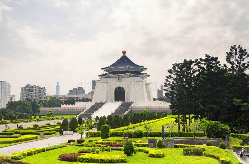 Taipei Chiang Kai-Shek Memorial Hall stock image