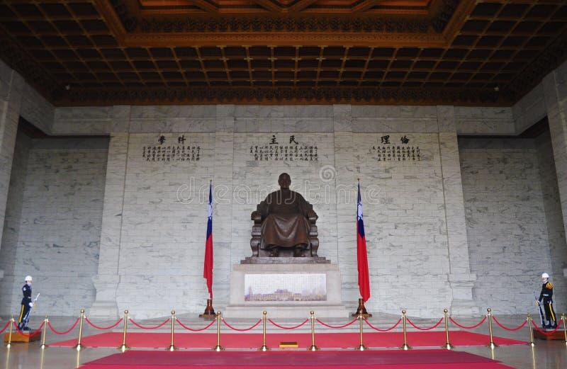 Chiang Kai-Shek Memorial Hall. Located at the heart of Taipei City, Chiang Kai-Shek Memorial Hall (National Taiwan Democracy Memorial Hall) was built to stock photos