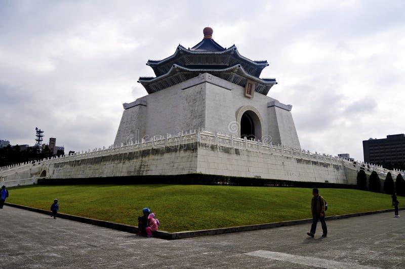 Chiang Kai-Shek Memorial Hall. Located at the heart of Taipei City, Chiang Kai-Shek Memorial Hall (National Taiwan Democracy Memorial Hall) was built to royalty free stock photo