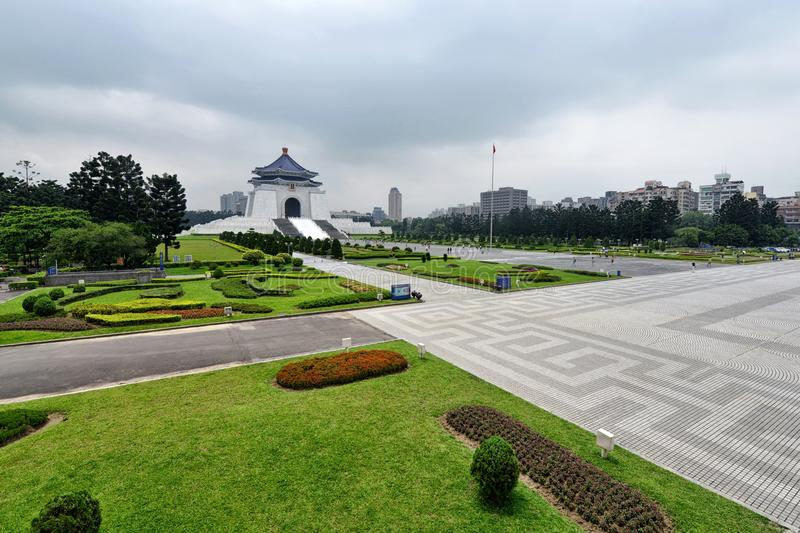 Chiang Kai-shek Memorial Hall. The National Chiang Kai-shek Memorial Hall is a Taiwanese national monument, landmark and tourist attraction erected in memory of royalty free stock photos
