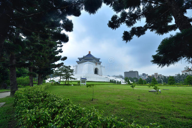 Chiang Kai-shek Memorial Hall. The National Chiang Kai-shek Memorial Hall is a Taiwanese national monument, landmark and tourist attraction erected in memory of stock photography