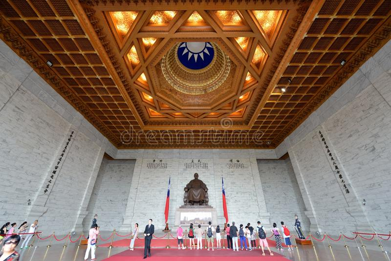 Chiang Kai-shek Memorial Hall. National Chiang Kai-shek Memorial Hall is a Taiwanese national monument, landmark and tourist attraction erected in memory of stock images