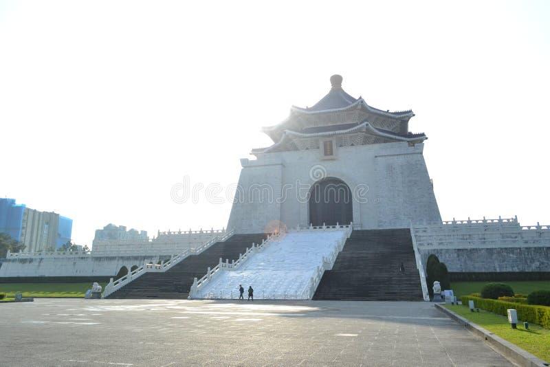 Chiang kai-shek memorial hall. Romantic white bridge at chiang kai-shek memorial hall in taipei stock photos