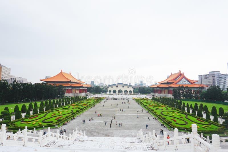 Chiang kai shek memorial hall. In Taipei stock photo