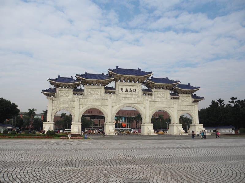 Chiang Kai Shek Memorial Hall In Taipei fotos de stock
