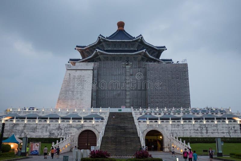 Chiang Kai Shek Memorial Hall Taipei imagens de stock