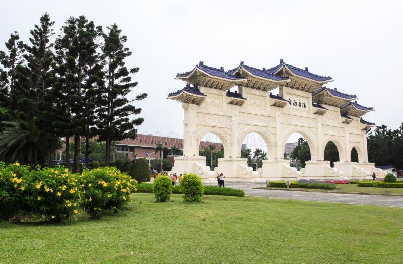 Chiang Kai-shek Memorial Hall w Taipei fotografia stock