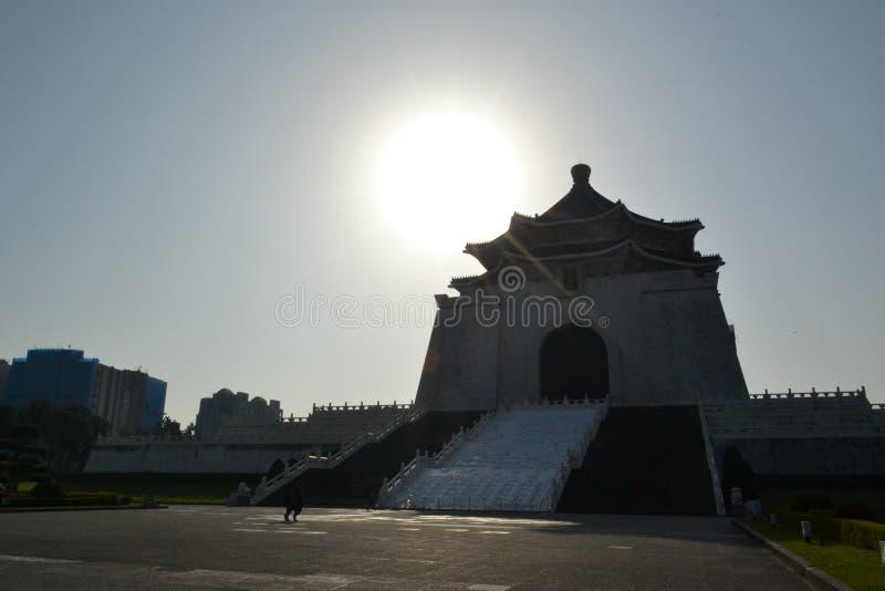 Chiang kai-shek memorial hall. At zhongzheng district taipei stock image