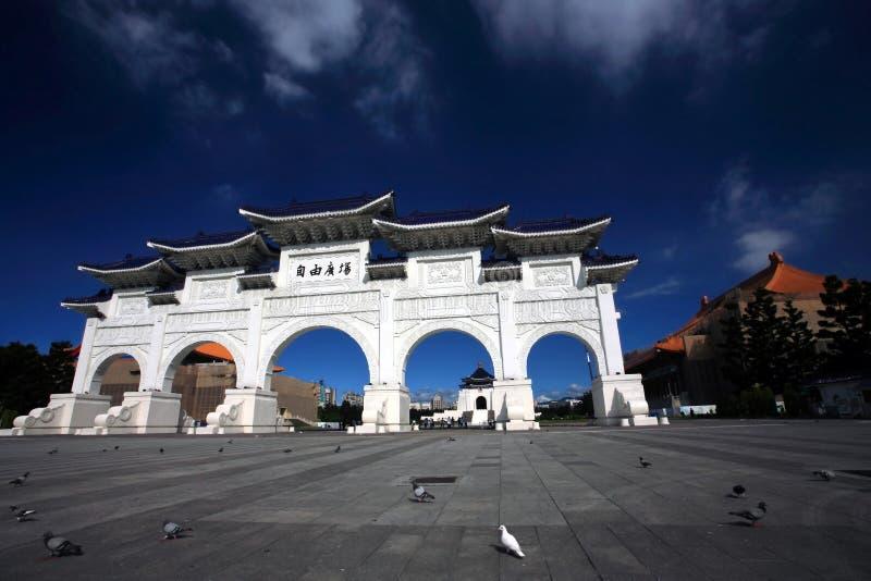 Chiang Kai Shek Memory Gate.Taipei. Chiang Kai Shek memory gate in Taipei, Taiwan royalty free stock images