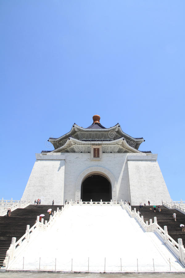 Chiang Kai-shek pasillo conmemorativo imágenes de archivo libres de regalías