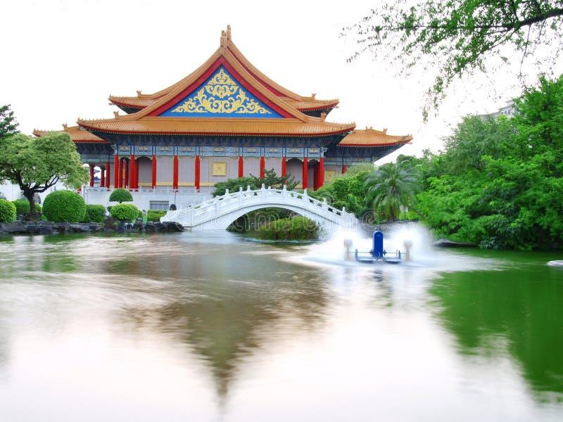 Chiang- Kai-shekerinnerungshalle lizenzfreies stockbild