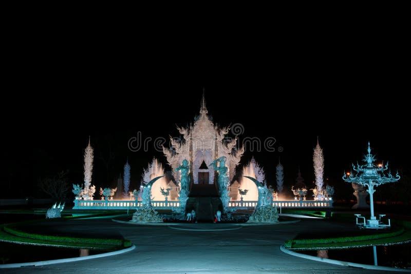 chiang khun rai rong泰国wat 免版税库存图片
