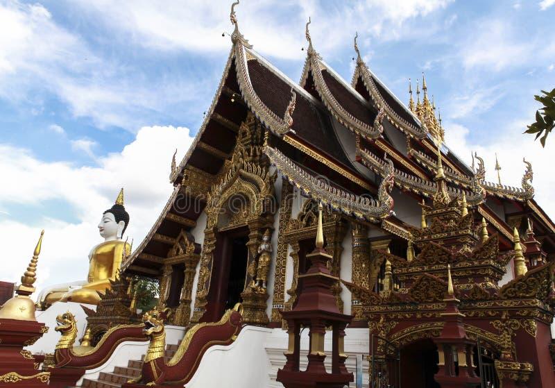 Chiang Mai寺庙 图库摄影