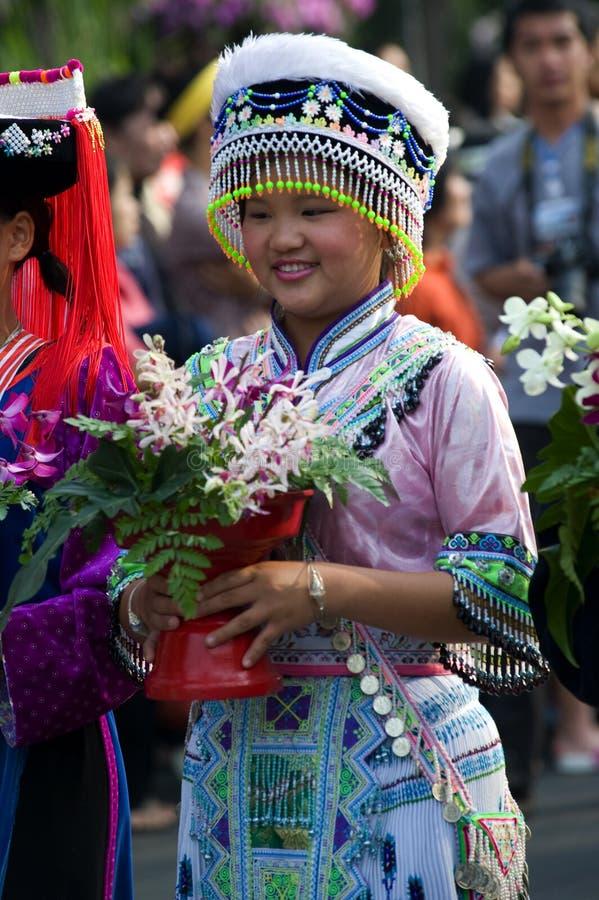 chiang mai Ταϊλάνδη λουλουδιών φ&eps στοκ εικόνα με δικαίωμα ελεύθερης χρήσης