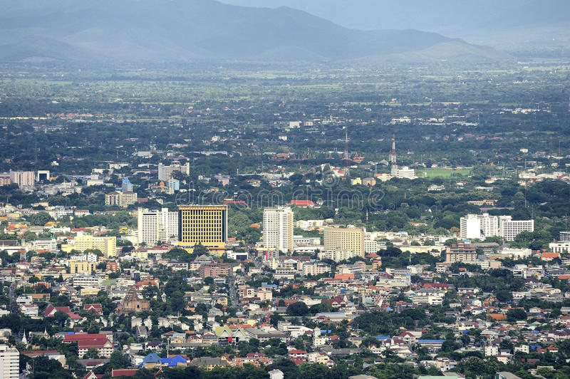 Chiang Mai city. royalty free stock images