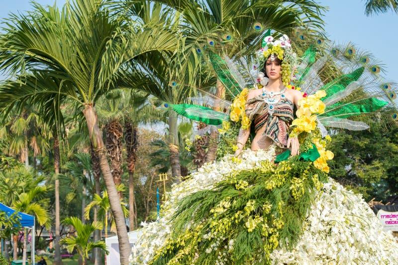 Chiang Mai Flower Festival 2016 arkivbild