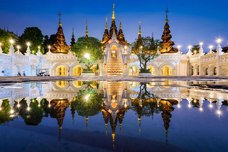 Chiang Mai Hotel fotografia stock libera da diritti