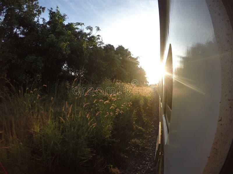 Chiang Mai-Khun Tan ferroviaire thaïlandais image libre de droits