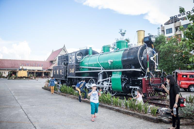 Chiang Mai - Lampang Thailand - 30 Mei: Chiangmai van de Travelbytrein royalty-vrije stock fotografie